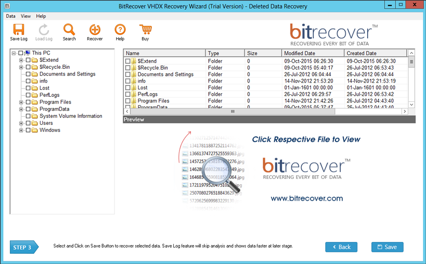 Free VHDX Viewer to open, view & explore VM  vhd and  vhdx files
